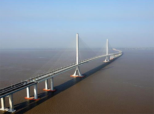 上海长江隧桥